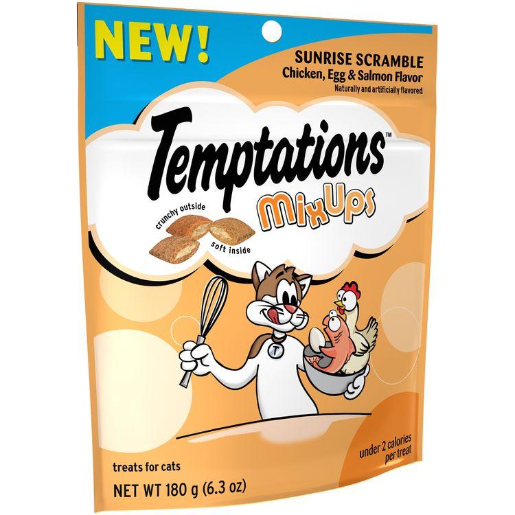 Temptations™ MixUps Sunrise Scramble Chicken, Egg & Salmon Flavor Treats for Cats