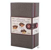 Wine Country Gift Baskets Premium Nut Gift Box (Gray)
