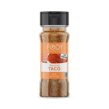 Fody Food Co, Taco Seasoning, Low FODMAP and Gut Friendly, Gluten and Lactose Free, Garlic and Onion Free [Taco Seasoning]