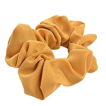 Polytree Women's Hair Elastics Soft Elegant Elastic Hair Bands Hair Ties Ponytail Holder