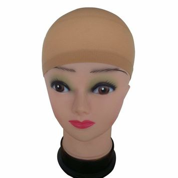 2Pack Wig Caps Hair Mesh Wig Cap Hair Nets Wig Stretchable Elastic Hair Net Unisex Stocking Wig Cap