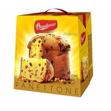 Bauducco Panettone - Traditional Holiday Cake - Moist & Fresh Specialty Cake - All Butter Gift Pack 32.05 Oz