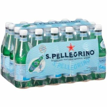 S.Pellegrino Sparkling Natural Mineral Water 0.5 L bottles, 24 ct. A1