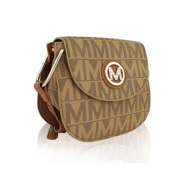 MKF Collection Paola Milan M Signature Cross-body Bag by Mia K. Farrow