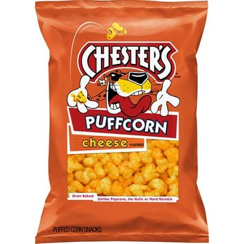 Chesters Puffcorn Cheese Flavored Popcorn, 4.25 oz