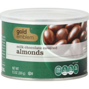 Gold Emblem Chocolate Covered Almonds