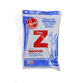 Hoover Type Z Upright Canister Vacuum 3 Bags # 4010100Z, 4010075Z