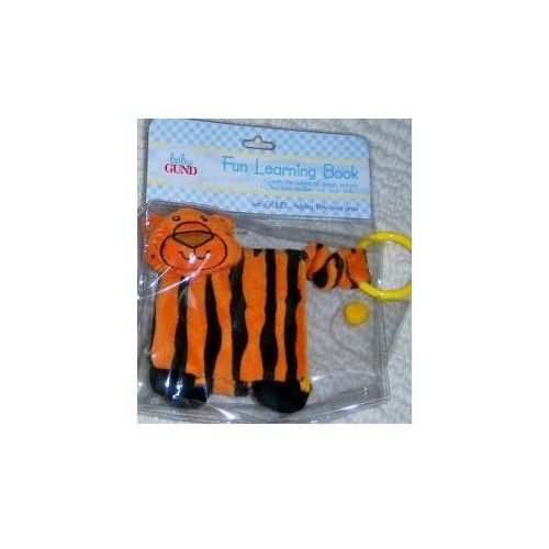 Baby Gund Fun Learning Book - Tiger
