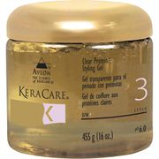 KeraCare Clear Protein Styling Gel by Avlon for Unisex - 16 oz Gel