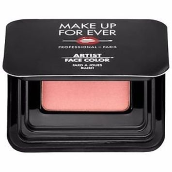 MAKE UP FOR EVER Artist Face Color Blush Powder B302 Shimmery Peach, Travel Size, 0.04 oz