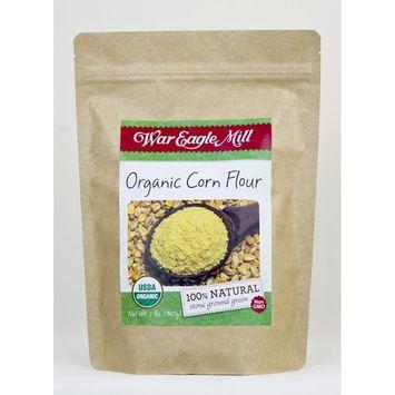 War Eagle Mill Organic Corn Flour in a resealable bag (2 lbs)
