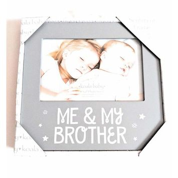 Baby Me and My Brother Frame 4x6