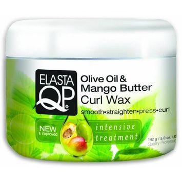 Elasta QP Olive Oil and Mango Butter Curl Wax 142 g by ElastaQP