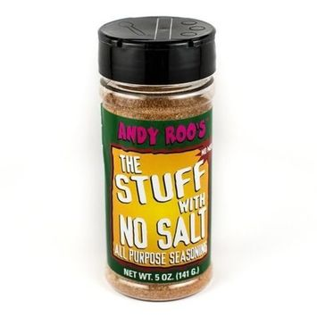 Andy Roo's The Stuff With No Salt All Purpose Seasoning, 5 Ounces
