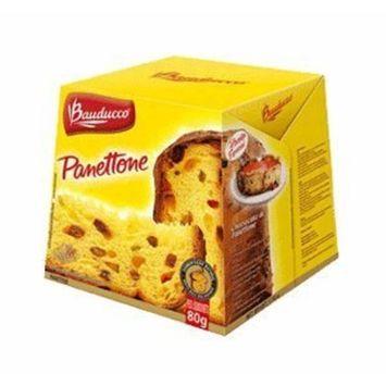Bauducco Mini Panettone Con Frutas 80g/2.82oz 2 Pack
