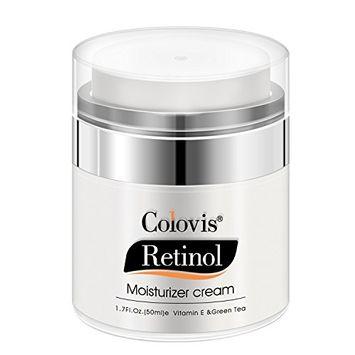 Face Moisturizer Cream Anti Aging with Retinol & Vitamin E, Day Night Cream for Women - Deeply Moisturize, Smooth Fine Lines Wrinkles, Improve Skin Tone- 1.7 Fl Oz
