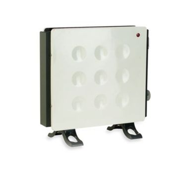 Crane Allergy-Friendly Convection Heater in White