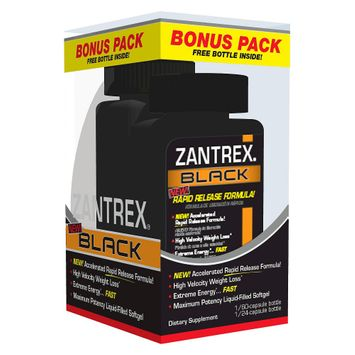 Basic Research Zantrex Black Weight Loss Softgels - 84 Count