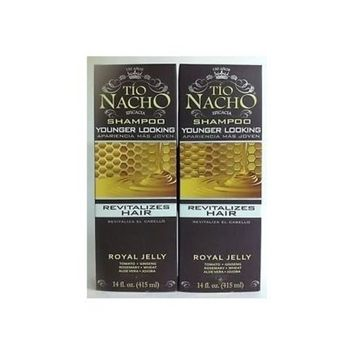 Tio Nacho All day Volume shampoo – Royal Jelly 14 Oz (Pack of 2)