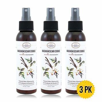 Natural Bathroom Spray (2PK Lemongrass Geranium) | Odor Eliminator Using Essential Oils to Sanitize Neutralize Toilet Odors and Refresh Home, Rooms, Bathrooms