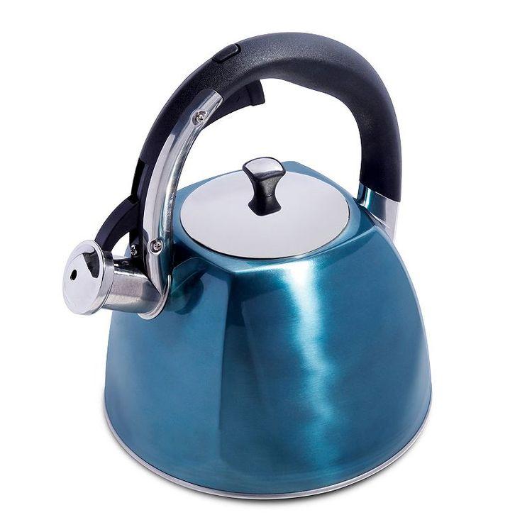Mr. Coffee Belgrove 2.5-qt. Teakettle, Turquoise/Blue (Turq/Aqua)