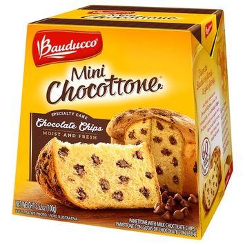 Bauducco Mini Panettone Specialty Cake - - 3.53 oz-100g (Chocottone, 1 Pack)