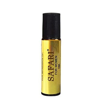 Perfume Studio Premium Fragrance Oil IMPRESSION with SIMILAR Perfume Accords to: -(S A F A R I*)_Women; 100% Pure No Alcohol Oil (Perfume Oil VERSION/TYPE; Not Original Brand)