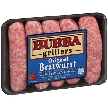 Bubba Grillers® Original Bratwurst