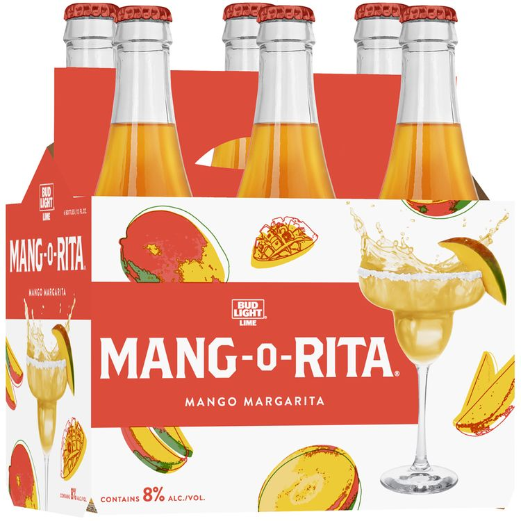 bud light lime® mang-o-rita® mango margarita malt beverage