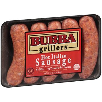 Bubba Grillers® Hot Italian Sausage