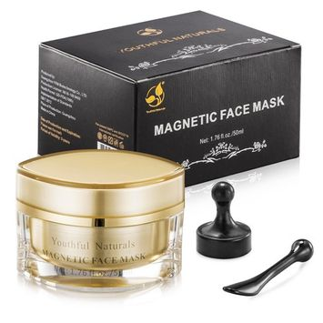 Magnetic Face Mask Mineral-Rich Sea Mud Mask Clean Pore Moisturize Skin-1.76 fl.oz