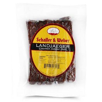 Schaller & Weber All Natural Landjaeger - 10 Ounce Average