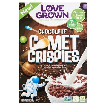Love Grown Foods, Llc Love Grown, Cereal Comet Crispies, 9.5 Oz (Pack Of 6)