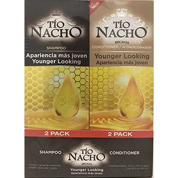 TIO NACHO Younger Looking Shampoo Conditioner, Twin Pack (2 Pack, 14 fl. Oz. Each)