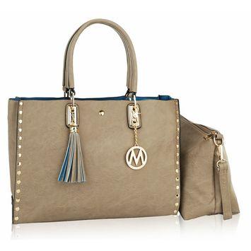 MKF Collection by Mia K. Farrow Isa Satchel Handbag