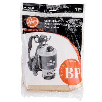 Hoover & Royal Back Pack Vacuum Type BP Bags 7 Pk Part - 401000BP, 1KE2103000