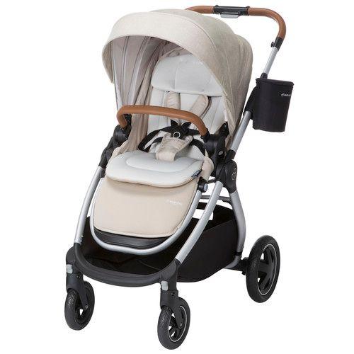 Maxi-Cosi Adorra 2.0 Modular Stroller [name: actual_color value: actual_color-nomadsand]