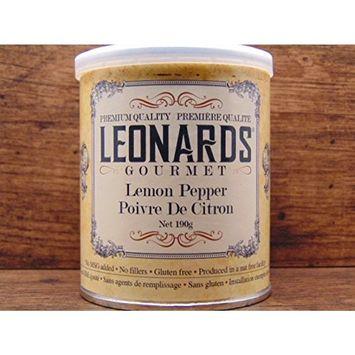 Leonards Gourmet Lemon Pepper, Gluten Free, Nut Free Facility, 190g