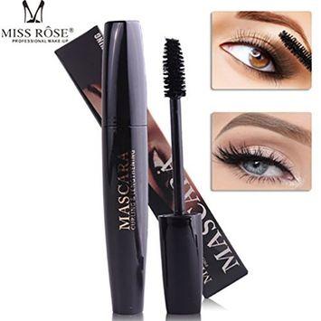 4D Silk Fiber Black Lash Eyelash Mascara Makeup Voluminous Waterproof Eye Lashes