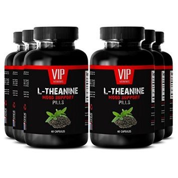 Natural green tea cleanser - L-THEANINE MOOD SUPPORT - Anti oxidant capsules - 6 Bottles 360 capsules