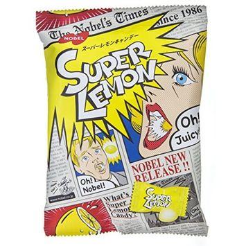 Six Nobel super lemon candy 88g ~