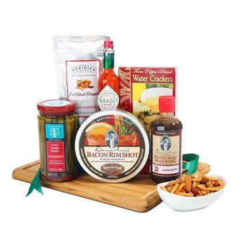 Alder Creek Gifts Set Basket, Demitris Bloody Mary, 7 Pound