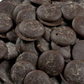 Noel Dark Chocolate Pistoles - Bittersweet 64%, Royale - 1 box - 11 lb