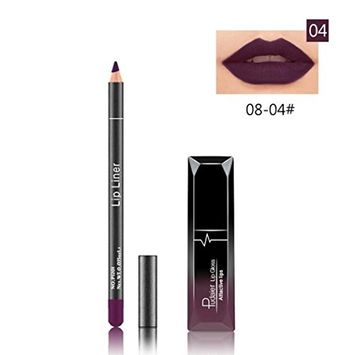 Hot Sales! DEESEE(TM) Long Lasting Lipstick Waterproof Matte Liquid Gloss Lip Liner Cosmetics Set