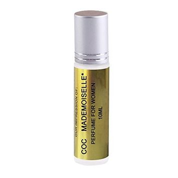C0K0* Mademoiselle Oil IMPRESSION with SIMILAR Fragrance Accords to (_C0K0*_MADEMOISELLE)* Perfume, 100% Pure No Alcohol Oil (Perfume Oil VERSION/TYPE; Not Original Brand)