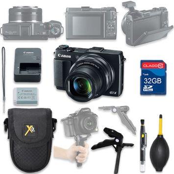 Als Variety Canon PowerShot G1 X Mark II Digital Camera with 32GB SD Memory Card + Accessory Bundle