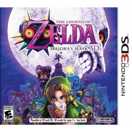 Legend Of Zelda Majora Mask (Nintendo 3DS) - Pre-Owned