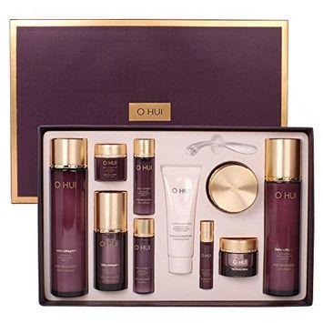 Ohui Age Recovery 4pcs Special Set ( Skin Softner-150ml/5.07oz, Emulsion-130ml/4.39oz, Essence-20ml/0.67oz, Cream-20ml/0.67oz )