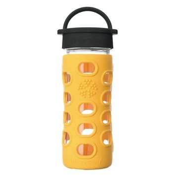 Lifefactory - Glass Water Bottle with Classic Cap and Silicone Sleeve Core 2.0