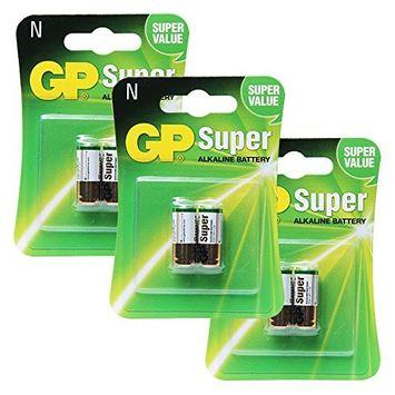 GP Alkaline Battery GP 910A, LR1 - N 1.5V, 3PACK X 2PCS